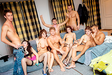 Totally insane group orgy movie, part 2
