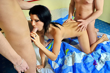 Student sex friends party all night long, part 3