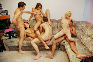 Hot sex party in the morning, part 5
